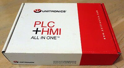 NEW UNITRONICS PLC + HMI, V1040-T20B 10.4 IN COLOR LCD TOUCH CANopen RS232/RS485