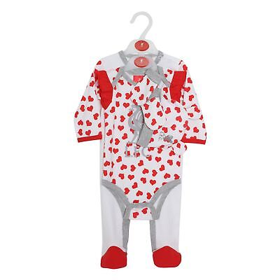 Liverpool FC White/Red Baby Boy Football 4 Piece Set AW 18/19 LFC Official