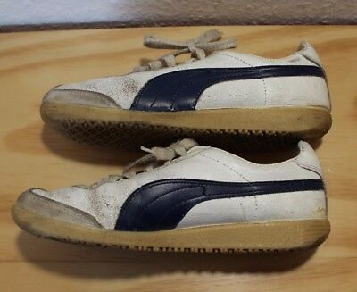 PUMA TOP WINNER Vintage Lace Up Mens Whisper White Trainers 348421 ... 1e84306c9
