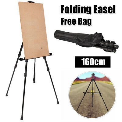 Adjustable Tripod Easel Display Stand Drawing Board Artist Sketch Painting W/bag
