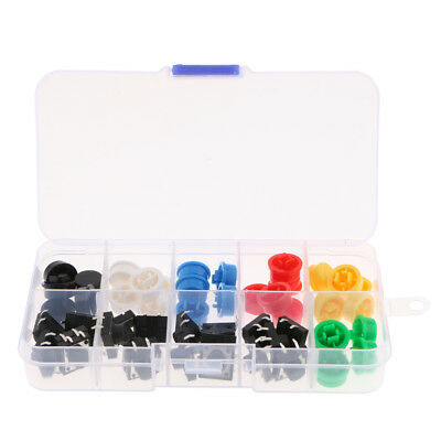 20pcs bouton tactile momentané bouton-poussoir tactile 12x12x7mm 4 broches