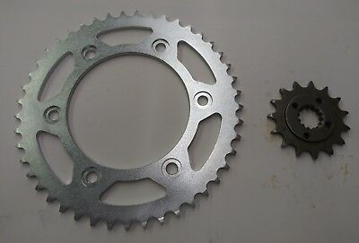1993-2018 Honda XR650L - Sprockets Sprocket Set 15 Tooth Front and 45 Tooth Rear