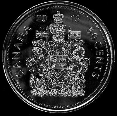 2016 CANADA 50 CENTS  Half Dollar COIN Uncirculated from roll