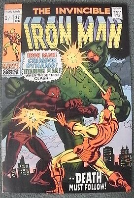 Invincible Iron Man #22   Feb 1970