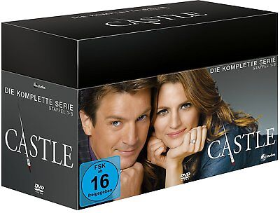 Castle Box - Die komplette Serie 1-8 (Limited Edition) [DVD] NEU OVP