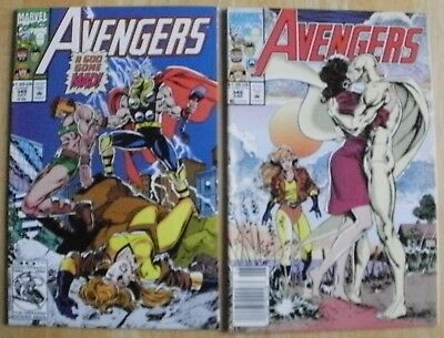 Avengers #348,#349,#350,#351,#352,#353,#354   Marvel Comics