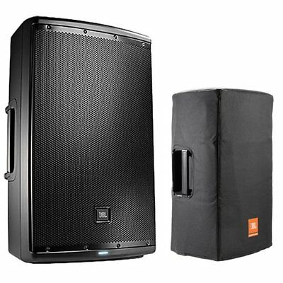"JBL EON615 1000W 15"" 2-Way Powered Speaker System with Bag Cover"