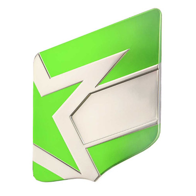 MasterCraft Boat Raised Shield Decal 7502063 | ProStar Lime Green