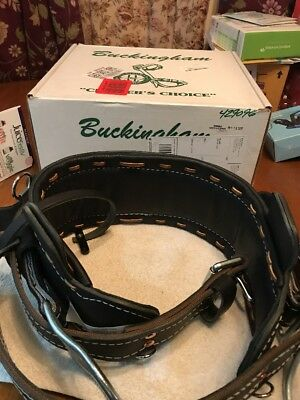 BUCKINGHAM 2000M-25BL  TREE POLE CLIMBING ADJUSTABLE CLIMBING BELT Size 25