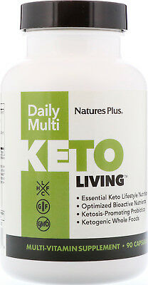 Keto Living Daily Multi, Nature's Plus, 90 capsule