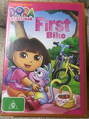 Dora the Explorer: Dora's First Bike [DVD]-Region 4-Free Post-Awesome Used Cond