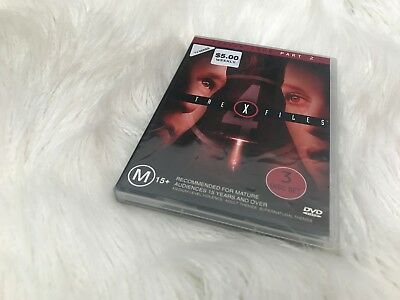 A103 - The X Files - Season 4 Part 2 - DVD Ex-Rental