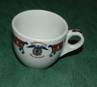 Shenango China, The Roosevelt Hotel, New Orleans Demitasse Cup - Used Condition