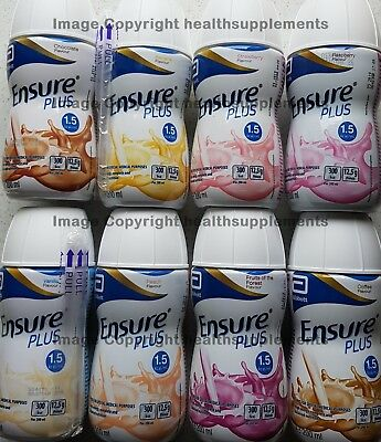 Ensure Plus Drinks from £1.85 each - Various Flavours & Pack Sizes - Free Post