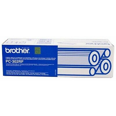 Original Brother Pc-302Rf Fax Roll Twin Pack (Pc302Rf) For Brother Fax Machines