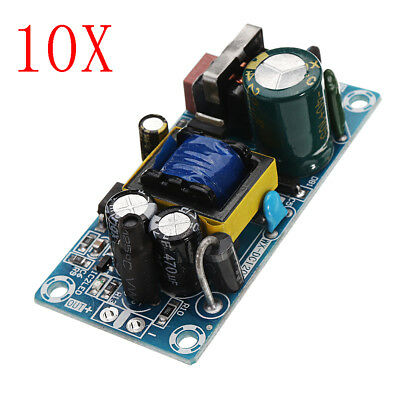 10pcs AC-DC 5V 2A Switching Power Supply Board Low Ripple Power