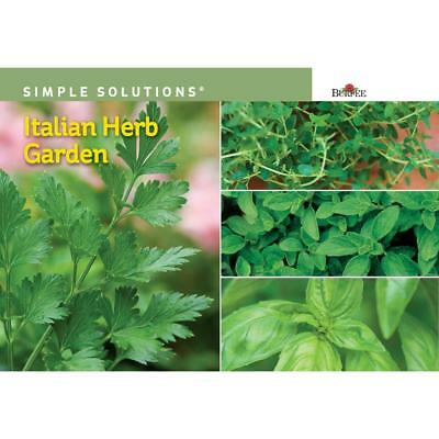 Burpee Simple Solutions Italian Herb Garden Seed Mix (2018) New Factory Sealed