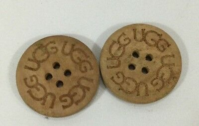 Two Pack UGG Tan Buttons for Bailey Button Tall Boots #1