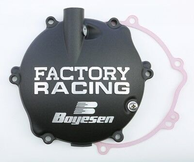Boyesen Factory Racing Clutch Cover (Black) (Cc-31B)