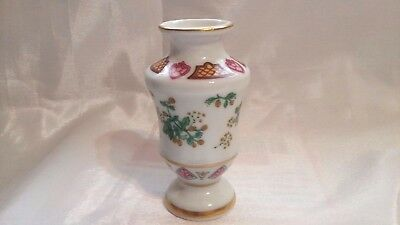 1982 Franklin Mint Flowers Of The Victorian Year Miniature Vase October Hop