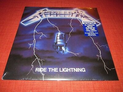 METALLICA - RIDE THE LIGHTNING / NEW 180g REMASTER VINYL LP / 2016 BLCKND004R-1