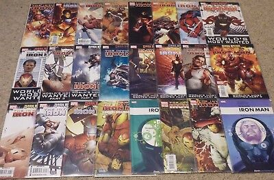 Invincible Iron Man #1-33, 500-505 | Matt Fraction Series Run (2008) | NM