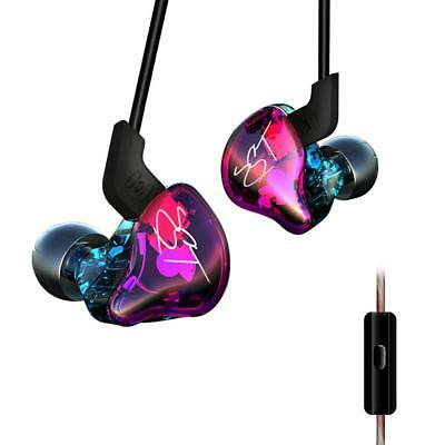 KZ-ZST Pro In-ear Dual Driver Earphone HiFi Music Super Bass Sport Headset w/Mic
