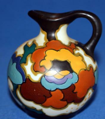 Gouda Dutch Pottery Small Handpainted Jug Signed on Base