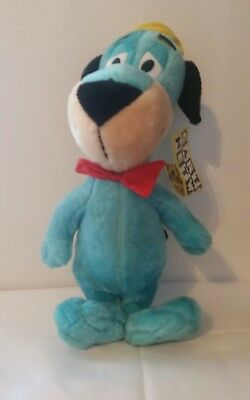 Cartoon Network HUCKLEBERRY HOUND BLUE PLUSH 2001 with tags
