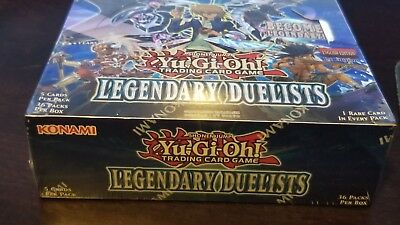 Yugioh: Legendary Duelists Booster Box 1st Edition Factory Sealed New