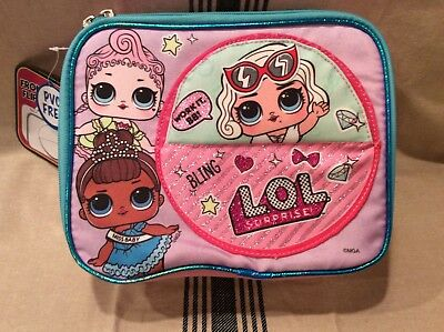 Lol Surprise Lunch Box, Mga, Pink/blue Multi. Authentic..