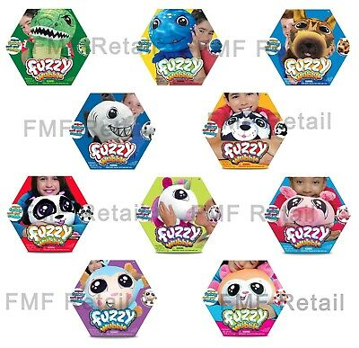 Fuzzy Wubble 1 Pack -Buyer Chooses from 12 Different Characters!