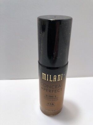 MILANI Conceal + Perfect 2-In-1 Foundation + Concealer - Nutmeg (Free Ship)