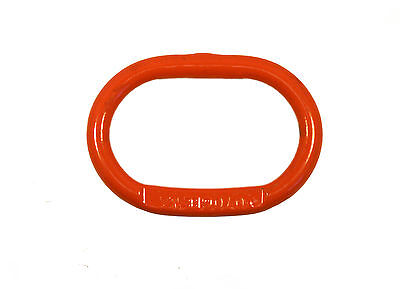 "1/2"" Cartec Oblong Master Link Ring Grade 100 - Lifting Chain Sling Replacement"