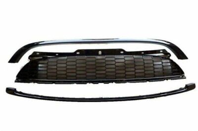 Glossy Black Sport Front Mesh Hood Grille Grill for Mini Cooper S R56 Mk2