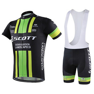 COMPLETO CICLISMO CYCLING JERSEY and pants Team Scott - EUR 28 8969d093a08