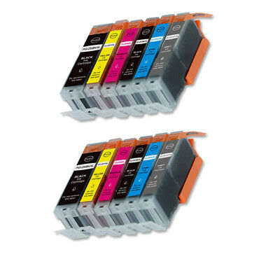 12 PK XL Compatible Ink Set for Canon PGI-250 CLI-251 MG7520 iP8720
