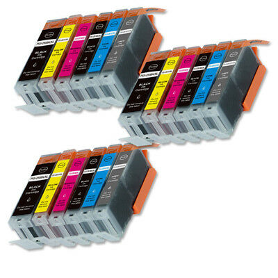 18 PK XL Compatible Ink Set for Canon PGI-250 CLI-251 MG7520 iP8720