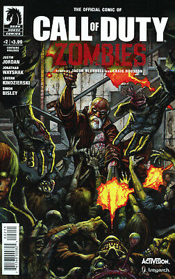 Call of Duty Zombies #2 NM Dark Horse Comics Activision