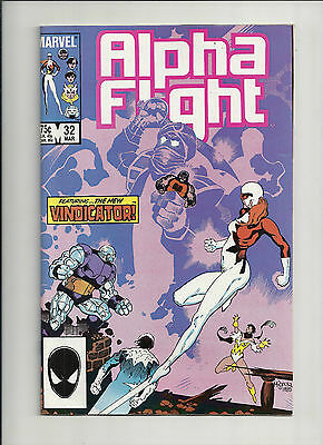 Alpha Flight #32 NM-
