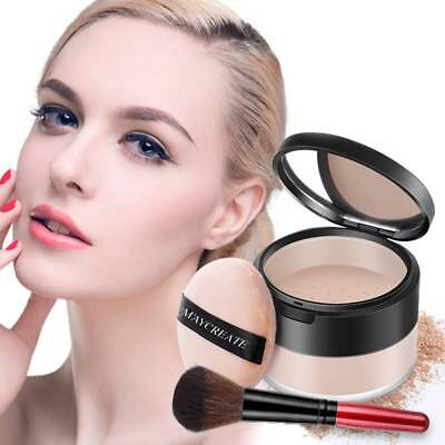 Magic Minerals Powder Foundation Face all in one Makeup with Stubby Brush YR