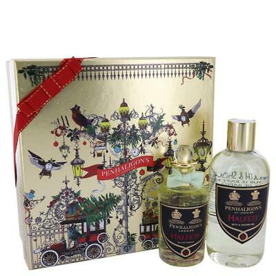Halfeti by Penhaligon's Gift Set -3.4 oz Eau De Parfum Spray 10.1 oz Shower Gel