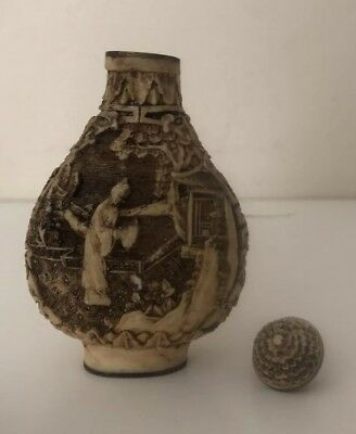 Snuff Bottle. Chinese Antique