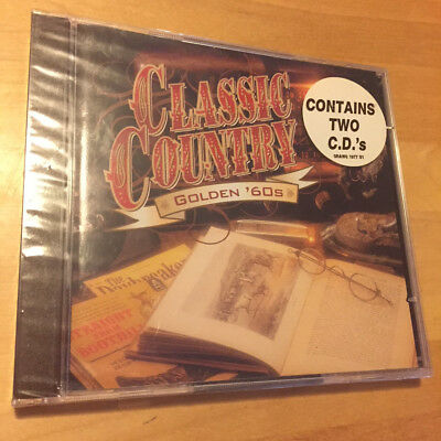 TIME LIFE MUSIC Classic Country: Golden '60s 2 CD SET BRAND NEW FACTORY SEALED !