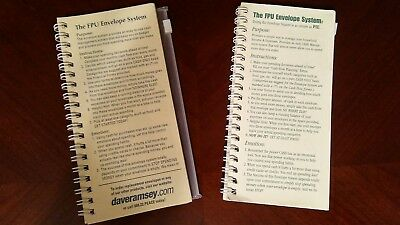 dave ramsey financial peace university envelope budget system refill