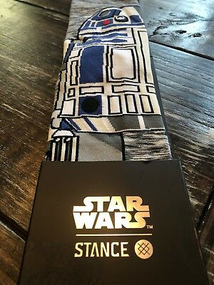 STAR WARS-Collection STANCE- Men's Athletic Crew Socks Large (9-12)$20 Retail!