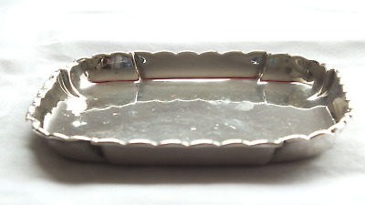 Solid Silver Small Tray by Comyns & Son London 1936