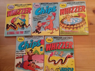 Whizzer and Chips comic Libraries : 3-7 (5 in total)
