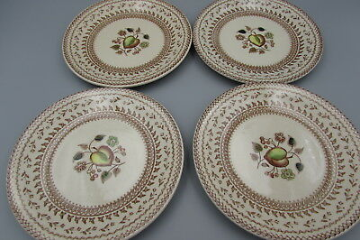 Johnson Brothers China FRUIT SAMPLER Bread Plates - Set of Four