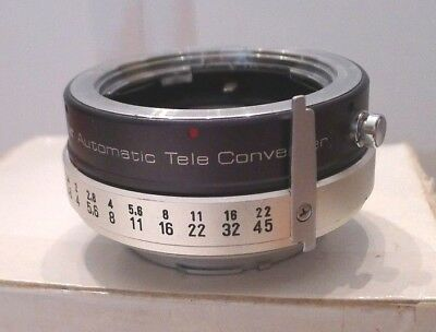 Vivitar Automatic Tele Converter 2X-5 - No End Caps- Japan